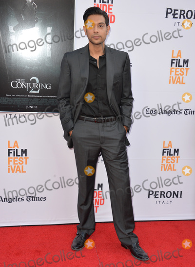 Abhi Sinha Photo - LOS ANGELES CA June 7 2016 Actor Abhi Sinha at the world premiere of The Conjuring 2 at the TCL Chinese Theatre HollywoodPicture Paul Smith  Featureflash