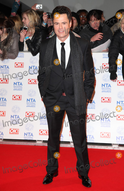 Donny Osmond Photo - Donny Osmond arriving for the National Television Awards 2013 at the O2 Arena London 23012013 Picture by Alexandra Glen  Featureflash