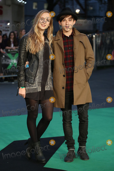 Tom Holland Photo - Tom Holland  Elle Lotherington at the world premiere of Ed Sheeran Jumpers For Goalposts at the Odeon Leicester Square London October 22 2015  London UKPicture James Smith  Featureflash