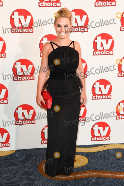 Georgie Thompson Photo - Georgie Thompson arriving for the TV Choice Awards 2014 at the Hilton Park Lane London 08092014 Picture by Steve Vas  Featureflash