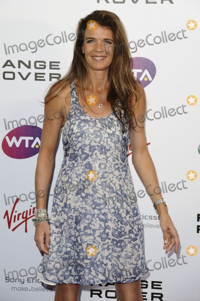 Annabel Croft Photo - Annabel Croft arriving for the Pre Wimbledon Party Kensington Roof Gardens London 16072011  Picture by Steve Vas  Featureflash