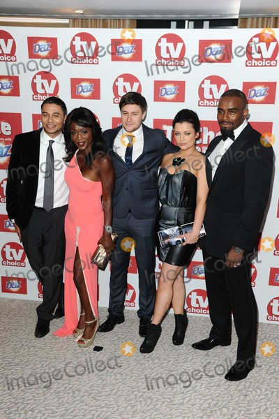 Chucky Photo - Ricky Norwood Dianne Parish Tony Disciple Shona McGarty and Chucky Venn arriving for the 2012 TVChoice Awards at the Dorchester Hotel London 10092012 Picture by  Steve Vas  Featureflash