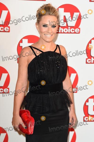 Georgie Thompson Photo - Georgie Thompson arriving for the TV Choice Awards 2014 at the Hilton Park Lane London 08092014 Picture by Steve Vas  Featureflash