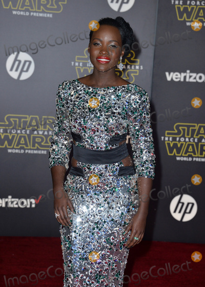 Lupita Nyongo Photo - Actress Lupita Nyongo at the world premiere of Star Wars The Force Awakens on Hollywood BoulevardDecember 14 2015  Los Angeles CAPicture Paul Smith  Featureflash