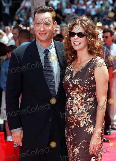 Photos and Pictures - 23JUL98: Actor TOM HANKS & wife RITA ...