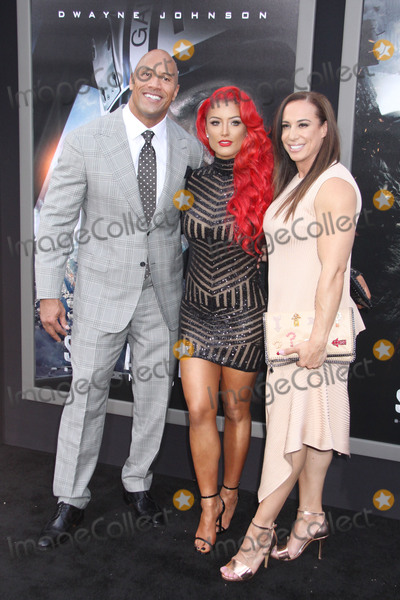 Dany Garcia Photo - Dwayne Johnson Eva Marie Dany Garcia 05262015 San Andreas Premiere held at the TCL Chinese Theatre in Hollywood CA Photo by Kazuki Hirata  HollywoodNewsWirenet
