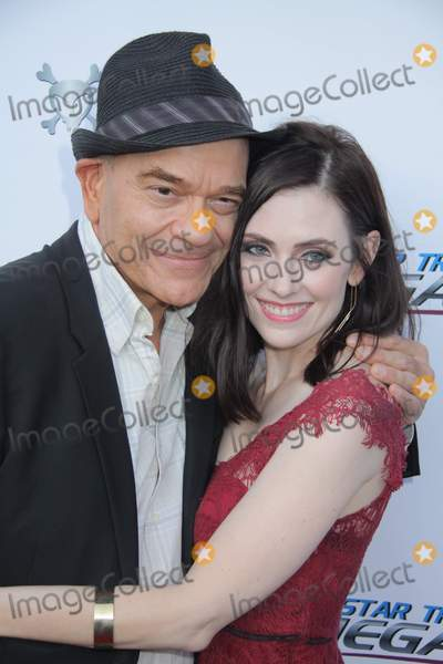 Adrienne Wilkinson Photo - Robert Picardo Adrienne Wilkinson 08012015 The Premiere of gStar Trek Renegadesh held at Crest Theater in Los Angeles CA Photo by Izumi Hasegawa  HollywoodNewsWirenet