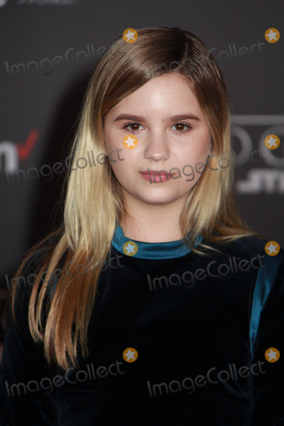 Kyla Kenedy Photo - Kyla Kenedy 12102016 The World Premiere of Rogue One A Star Wars Story held at the Pantages Theatre in Los Angeles CA Photo by Izumi Hasegawa  HollywoodNewsWireco