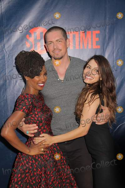 Steve Howey Photo - Shanola Hampton Steve Howey Sarah Shahi 08102015 CBS the CW and Showtime 2015 TCA Party at Pacific Design Center in West Hollywood CA Photo by Izumi Hasegawa  HollywoodNewsWirenet