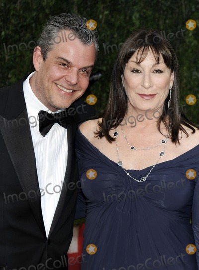 Angelica Huston Photo - Actors Danny Huston and Angelica Huston (R) arrive at the post Oscar Vanity Fair Party at the Sunset Tower Hotel in Hollywood California on March 7th 2010 ( Pictured Danny Huston Angelica Huston)