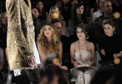 Alexis Dziena Photo - (L-R) TV personality Whitney Port actress Alexis Dziena and socialite Olivia Palermo pictured during the Rebecca Taylor Fall 2010 Fashion Show during Mercedes-Benz Fashion Week at The Salon at Bryant Park in New York NY on February 14th 2010 (Pictured Whitney Port Alexis Dziena Olivia Palermo)