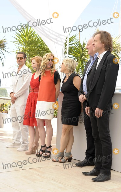 Bill Pohlad Photo - Cannes France Brad Pitt US actress Jessica Chastain producer Dede Gardner producer Sarah Green producer Grant Hill and producer Bill Pohlad at The Tree Of Life Photocall during the 64th Annual Cannes Film Festival at Palais des Festivals 16th May 2011SydLandmark Media