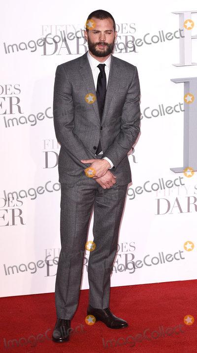 Jamie Dornan Photo - London UK Jamie Dornan at the Fifty Shades Darker Premiere held at Odeon Leicester Square London on Thursday 9 February 2017Ref LMK392-61655-100217Vivienne VincentLandmark Media WWWLMKMEDIACOM