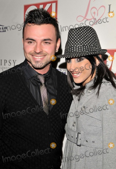 Andy Scott Lee Photo - London UK Andy Scott-Lee and guest at the OK Magazine Editorial Christmas Party held at the Living Room in London 8th December 2008SYDLandmark Media
