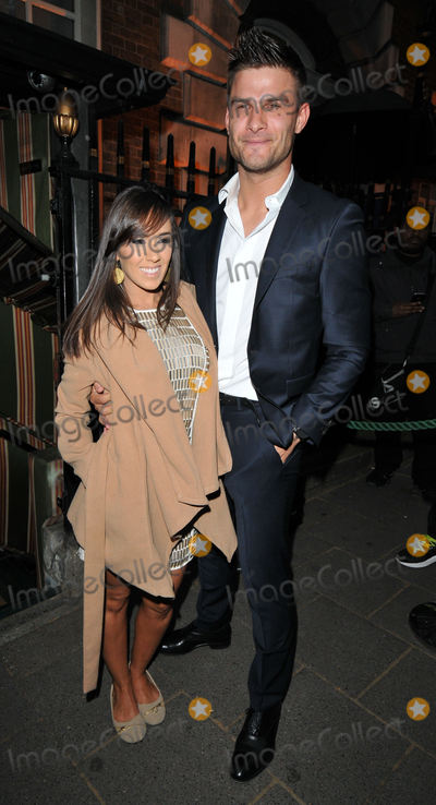 Aljaz Skorjanec Photo - London UK  Janette Manrara  Aljaz Skorjanec   at the Hawn Foundation Fundraising Gala   Annabels Berkeley Square 1st  June 2015 RefLMK315-51414-030615 Can NguyenLandmark Media WWWLMKMEDIACOM