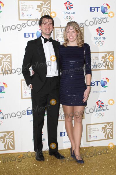 Anna Watkins Photo - LondonUK Anna Watkins and guest   at the  BT British Olympic Ball at the Grosvenor House Hotel Park Lane London 30th November 2012 Keith MayhewLandmark Media