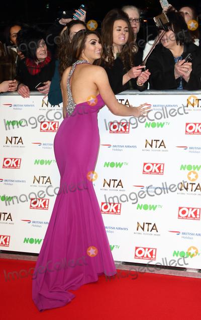 Luisa Zissman Photo - LondonUK Luisa Zissman  at the National Television Awards 2016 Red Carpet arrivals at the O2 London 20th January 2016 RefLMK73-59159-210116 Keith MayhewLandmark Media  WWWLMKMEDIACOM