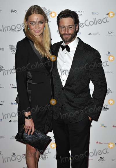 Andrea Vianini Photo - London UK Jodie Kidd and Andrea Vianini   at  the WGSN Global Fashion Awards at the Victoria  Albert MuseumLondon30th  October 2013 RefLMK386-45602-311013 Gary MitchellLandmark MediaWWWLMKMEDIACOM