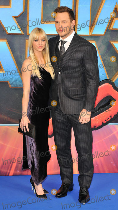 Anna Faris Photo - London UKAnna Faris and Chris Pratt   at Guardians of The Galaxy Vol 2 - European gala premiere at Eventim Apolllo Hammersmith London on April 24th 2017Ref LMK315-J230-250417Can NguyenLandmark MediaWWWLMKMEDIACOM