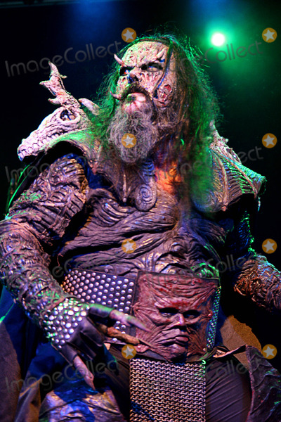 Lordi Photo - London UK Lordi a Finnish heavy metal band who won the Eurovision Song Contest in 2006 perform live as part of their Deadache tour at the Carling Islington Academy in London Lordi are OX Amen Mr Lordi Awa and Kita 12th February 2009Taya UddinLandmark Media