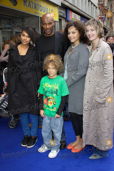 Colin Salmon and family