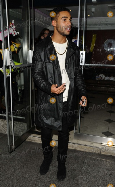 Lucien Laviscount Photo - London UK    Lucien Laviscount  at  the Luisa Zissmans Mad Hatters Tea Party to launch the Bakers Tool Kit range of cake decorations Retro Feasts bar  restaurant Old Burlington St 6th November 2013 RefLMK315-45867-07113Can NguyenLandmark MediaWWWLMKMEDIACOM