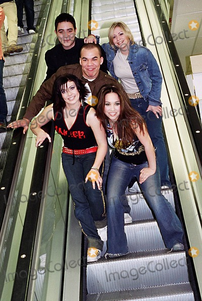 Kym Marsh Photo - March 2001 HearSay (British Pop Group) Danny Foster Myleene Klass Kym Marsh Suzanne Shaw and Noel Sullivan at WH Smith to promote Pure and SimplePhotos by ANDY LOMAXLandmark Media