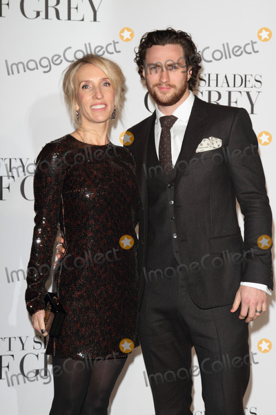 Aaron Johnson Photo - London UK Director  Sam Taylor-Johnson and Aaron Johnson  at the Fifty  Shades Of Grey UK Premiere  Odeon Leicester Square London  12th o February 2015RefLMK73-50587-1302115 Keith MayhewLandmark MediaWWWLMKMEDIACOM