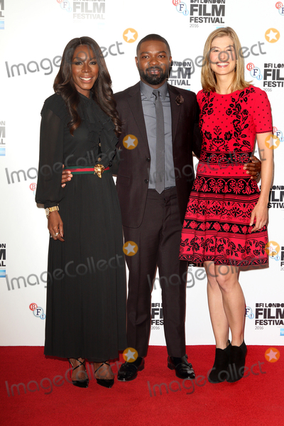 Amma Asante Photo - London UKAmma Asante David Oyelowo Rosamund Pike at A United Kingdom photo call during London Film Festival at The Mayfair Hotel London on October 5th 2016 Ref LMK73 -61095-061016Keith MayhewLandmark Media WWWLMKMEDIACOM