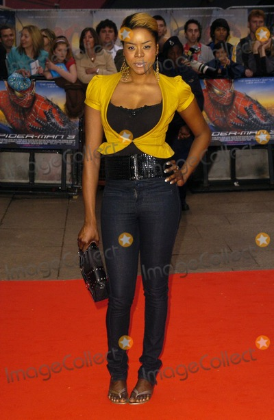 Antonia Okonma Photo - London UK Antonia Okonma at the Spider_Man 3 UK premiere at the Odeon Leicester Square Cinema 23rd April 2007 Can NguyenLandmark Media