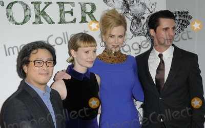 Mia Wasikowska Photo - London UK Park Chan-Wook Mia Wasikowska Nicole Kidman and Matthew Goode at the Stoker gala screescreening held at the Curzon Soho cinema Shaftesbury Avenue 17th February 2013Ref LM-430343039-180213Can NguyenLandmark Media