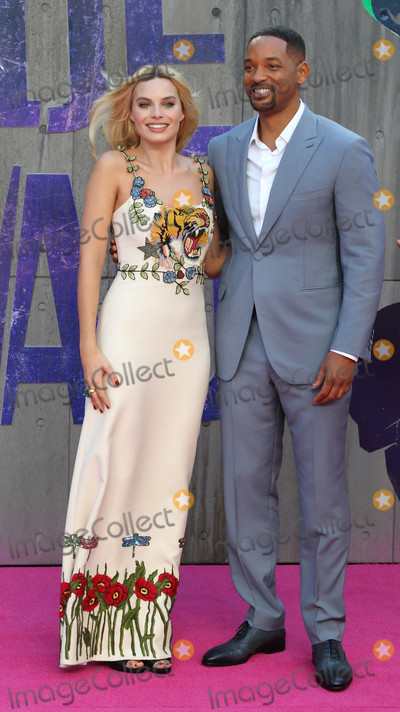 Margot Robbie Photo - London UK Will Smith and Margot Robbie at the European Premiere of Suicide Squad at the Odeon Leicester Square London on August 3rd 2016Ref LMK73-60940-040816Keith MayhewLandmark MediaWWWLMKMEDIACOM