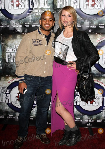 Andrew Shim Photo - London UK   110512Andrew Shim and guest at the UK Premiere of Airborne the opening film of the British Independant Film Festival at the Empire Leicester Square11 May 2012Keith MayhewLandmark MediaALL