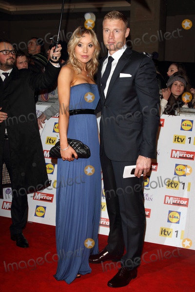 Andrew Flintoff Photo - London UK  291012Andrew Flintoff and Rachael Flintoff at the Daily Mirror Pride Of Britain Awards held at the Grosvenor House Hotel in Park Lane London29 October 2012Keith MayhewLandmark Media