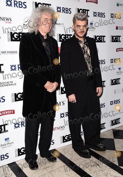 Adam Lambert Photo - London UK  Brian May and Adam Lambert  at The LGBT Awards held at The Connaught Rooms Great Queen Street London 13th May 2016 Ref LMK392-60515-140516Vivienne VincentLandmark Media WWWLMKMEDIACOM