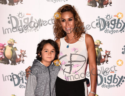 Ampika Pickston Photo - LondonUK   Ampika Pickston and Jake   at Digby Dragon World Premiere held at The Conservatory Barbican Centre London 2nd July 2016  RefLMK392-60800-030716  Vivienne VincentLandmark Media WWWLMKMEDIACOM