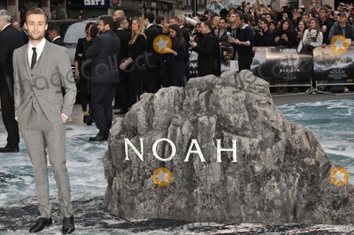 Douglas Booth Photo - London UK Douglas Booth at the Noah UK film premiere at Odeon Leicester Square Cinema Leicester Square on Monday March 31 2014Ref LMK315-48033-010414Can NguyenLandmark Media WWWLMKMEDIACOM