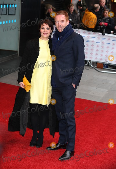 Damien Lewis Photo - London UK Damien Lewis and Helen McRory at the Princes Trust and Samsung Success Awards at the Odeon Leicester Square 26th March 2013J AdamsLandmark Media