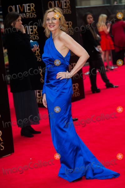 Kim Cattrall Photo - London UK Kim Cattrall at the Olivier Awards at The Royal Opera House Covent Garden 28t April 2013Justin NgLandmark Media