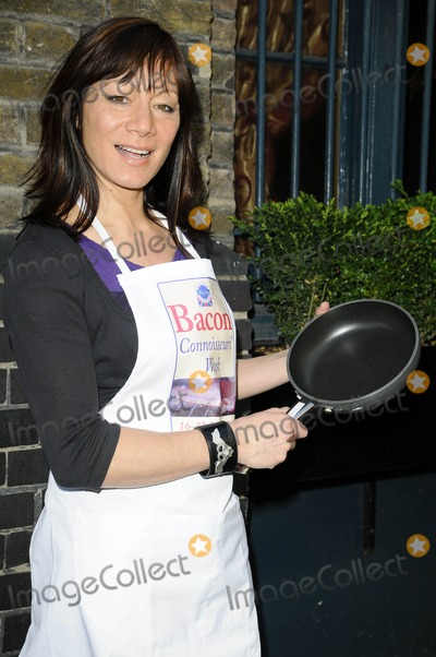 Anna Richardson Photo - London UK Anna Ryder Richardson at the Bacon Connoisseurs Week 2009 launch held at the Bleeding Heart Restuarant Bleeding Hart Yard in London 16th March 2009Can NguyenLandmark Media