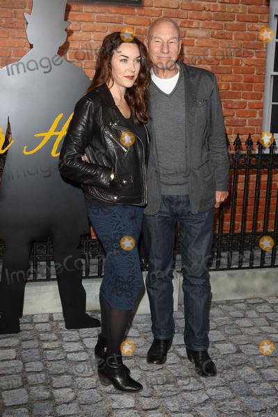 Patrick Stewart Photo - London UK Sunny Ozell and Patrick Stewart at UK Premiere of Mr Holmes at the Odeon Kensington London on June 10th 2015Ref LMK73-51444-110615Keith MayhewLandmark Media WWWLMKMEDIACOM