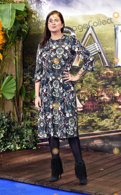Amanda Lamb Photo - London UK Amanda Lamb at World Premiere of Pan at the Odeon Leicester Square London on September 20th 2015 Ref LMK392-58283-210915Vivienne Vincent Landmark Media WWWLMKMEDIACOM