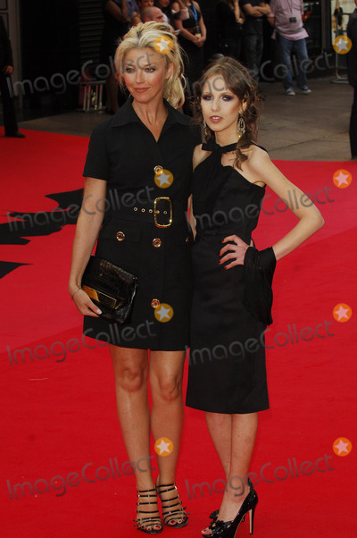 Allegra Versace Photo - London UK Tamara Beckwith and Allegra Versace at the European Premiere of The Dark Knight at the Odeon Leicester Square central London UK21st July 2008Ali KadinskyLandmark Media2008