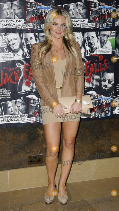 Annie Cooper Photo - London UK Annie Cooper at the Jack Falls VIP Screening held at theMay Fair Hotel in London 14th March 2011Can NguyenLandmark Media