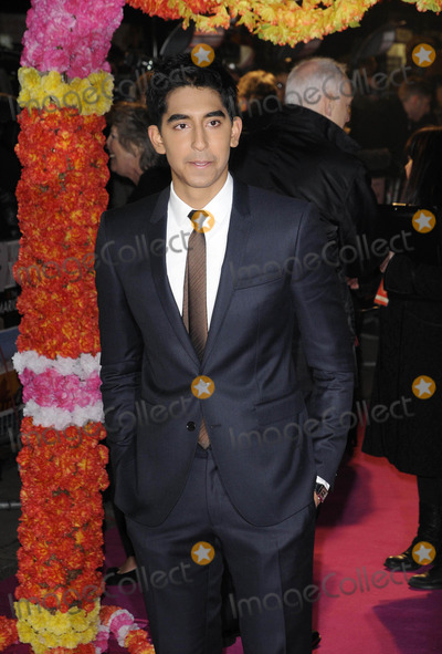 Dev Patel Photo - London UK Dev Patel at The Best Exotic Marigold Hotel world premiere held at the Curzon Mayfair cinema 7th February 2012Can NguyenLandmark Media