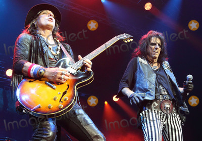 Alice Cooper Photo - London UK Alice Cooper performing live at The first Stone Free Festival at the O2 Arena London on June 18th and 19th 2016Ref LMK73-60326-200616Keith MayhewLandmark Media WWWLMKMEDIACOM