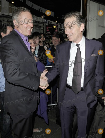 Anthony Andrews Photo - London UK Rory Bremner and Anthony Andrews at the Betty Blue Eyes Press Night held at the Aldwych 13th April 2011Can NguyenLandmark Media