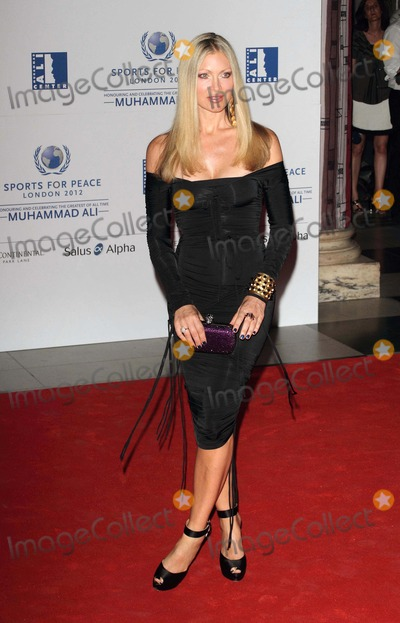 Caprice Photo - London UK Caprice at the Sports for Peace - Honouring and celebrating Muhammed Ali held at the Victoria and Albert Museum Kensington 25th July 2012Keith MayhewLandmark Media