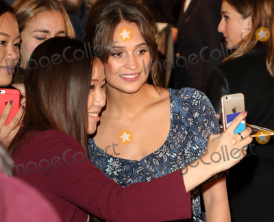 Alicia Vikander Photo - London UK Alicia Vikander  at The Light Between Oceans - UK film premiere at the Curzon Mayfair London on October 19th 2016Ref LMK73-61153-201016Keith MayhewLandmark MediaWWWLMKMEDIACOM