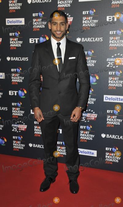 Amir Khan Photo - London UK Amir Khan  at the BT Sport Industry Awards at Battersea Evolution in London on May 8 2014 Ref LMK386-48413-090514Gary MitchellLandmark Media WWWLMKMEDIACOM